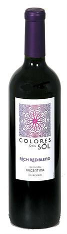 Colores Del Sol Rich Red Blend Reserva